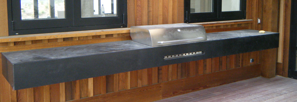 Outdoors Stone BBQ Benchtop