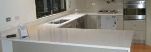 Engineered Stone Kitchen Benchtop Installation