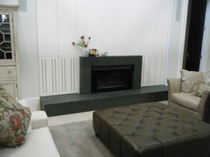 Stone Fireplace Surround, House of the Year 2010, Millbrook, Queenstown